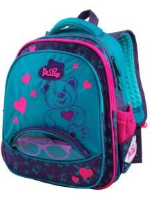 Детский школьный рюкзак De Lune 54-01 Бирюзовый