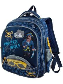 Детский школьный рюкзак De Lune 54-04 Синий