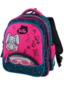 Детский школьный рюкзак De Lune 54-05 Бирюзовый