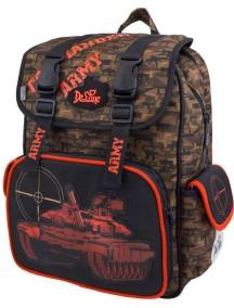 Детский школьный рюкзак De Lune 52-09 Оранжевый