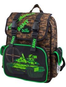 Детский школьный рюкзак De Lune 52-09 Зеленый