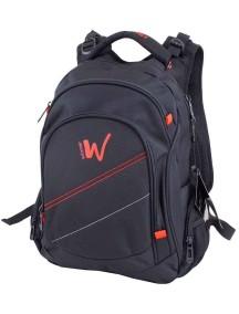 Детский школьный рюкзак Winner 372 Черно-оранжевый