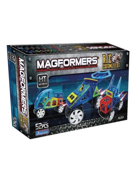 Магнитный конструктор MAGFORMERS 63091 R/C custom set