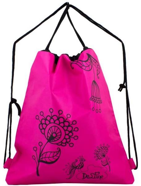 Мешок De Lune S-02-розовый с цветами