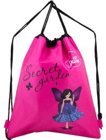 Детский Мешок для обуви De Lune S-02-Розовый фея