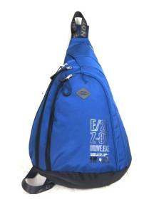 Детский школьный рюкзак UFO PEOPLE однолямка 6601 Синий