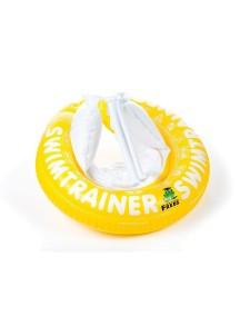 Надувной круг для плавания SwimTrainer Желтый от 4 лет до 8 (20-36 кг)  Swim Academy Freds