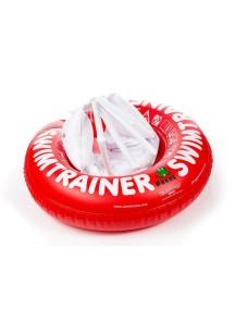 Надувной круг для плавания SwimTrainer Красный от 3 месяцев до 4 лет (6-18 кг) Fred's Swim Academy