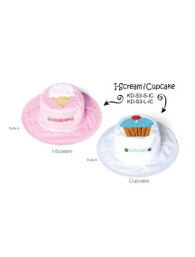 Панама двусторонняя FlapJacks Мороженое/Пирожное (I-Scream / Cupcake) М (2-4)