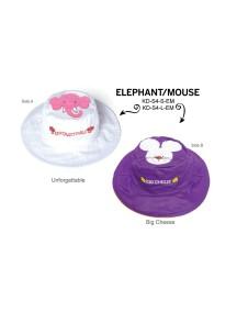 Панама двусторонняя FlapJacks Слон/Мышка (Elephant / Mouse) М (2-4)