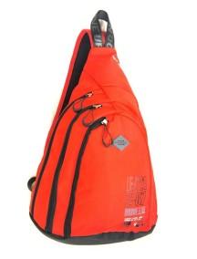 Детский школьный рюкзак UFO PEOPLE однолямка 6602 Красный