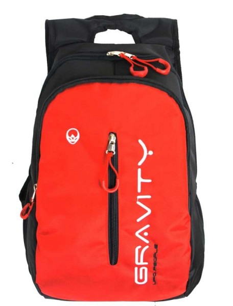 Детский школьный рюкзак UFO PEOPLE 6608 Красный