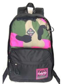 Детский школьный рюкзак UFO PEOPLE 6635 Черный