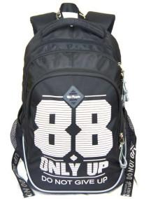 Детский школьный рюкзак UFO PEOPLE 6652 Черный