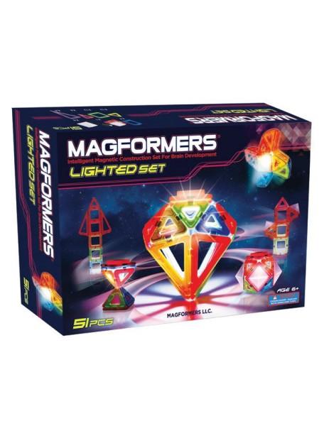Магнитный конструктор MAGFORMERS 63092 Lighted set