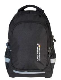 Детский школьный рюкзак UFO PEOPLE 3601 черный