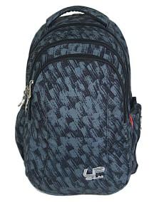 Детский школьный рюкзак UFO PEOPLE WD 4783 синий