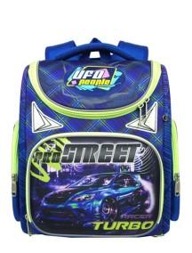 Детский школьный ранец UFO PEOPLE 5202 синий