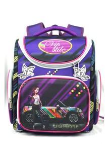 Детский школьный ранец UFO PEOPLE 5208 фиолетовый
