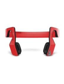 Беспроводные наушники AfterShokz Bluez 2 (костная передача звука) красные