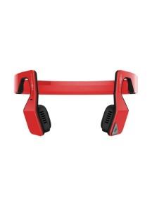 Беспроводные наушники AfterShokz Bluez 2s (костная передача звука) красные