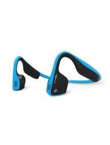 Беспроводные наушники с костной проводимостью звука AfterShokz Trekz Titanium синие