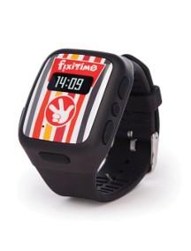 Детские часы-телефон Fixitime с трекером GPS черные