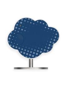Трекер-метеостанция окружающей среды Climate синий