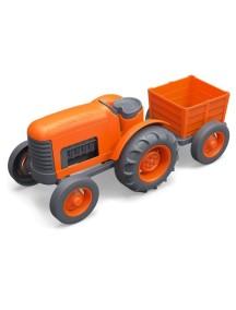 Трактор оранжевый GreenToys (сделано в США)