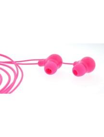 Светящиеся наушники 4id PowerBudz розовые