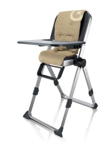 Самый компактный в мире стульчик для кормления Concord Spin (Конкорд Спин). Цвет Бежевый.