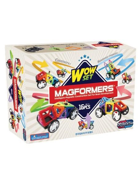 Магнитный конструктор MAGFORMERS 63094 Wow  set