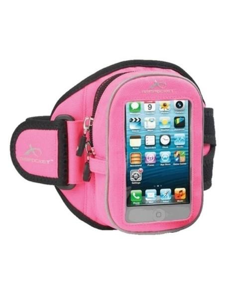 Armpocket I-20 - чехол для бега iPhone 4/4s розовый