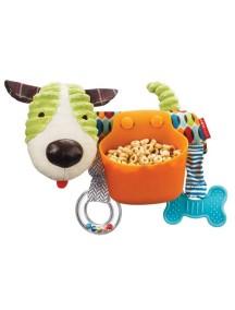 Развивающая игрушка органайзер на коляску Skip Hop Puppy Stroller Bar Snack Toy Щенок