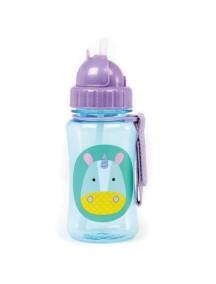 """Поильник с трубочкой детский """"Единорог"""" Skip Hop Zoo Straw Bottle"""