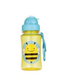 """Поильник с трубочкой детский """"Пчела"""" Skip Hop Zoo Straw Bottle Bee"""