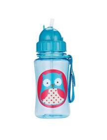 """Поильник с трубочкой детский """"Сова"""" Skip Hop Zoo Straw Bottle Owl"""