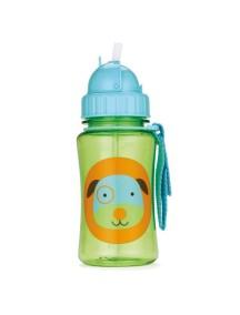 """Поильник с трубочкой детский """"Собака"""" Skip Hop Zoo Straw Bottle Dog"""