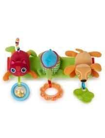 Развивающая игрушка-подвеска на коляску OOPS Город