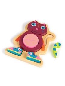 Развивающая игрушка-пазл OOPS Кошка