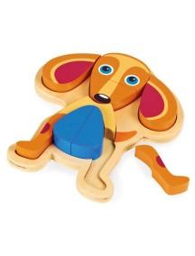 Развивающая игрушка-пазл OOPS Собака