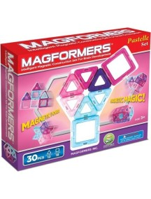 Магнитный конструктор MAGFORMERS 63097 30 Pastelle