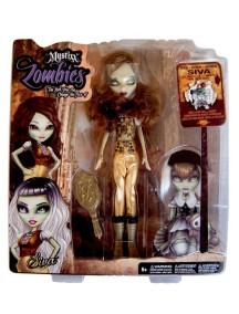 Уникальная двуликая кукла Mystixx Zombie (Мистикс зомби) Сива