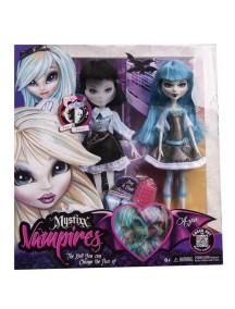 Уникальная двуликая кукла Mystixx Vampires Mystixx Vampires Day&Night (Мистикс вампир) Азра с одеждой