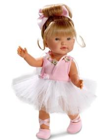 Кукла балерина Валерия 28 см Llorens Juan, S.L.