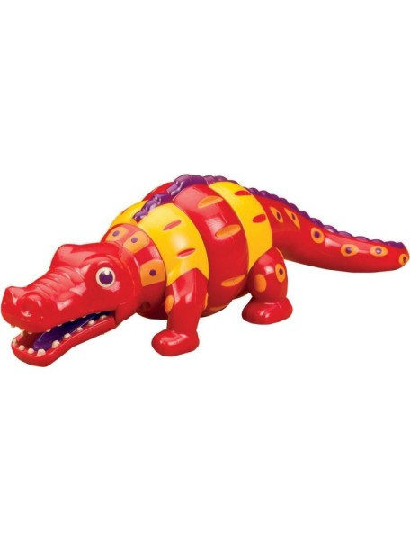 "Погремушка ""Крокодил""    B Dot/Battat (Канада)"