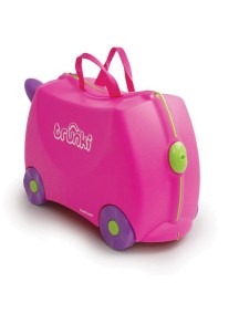 Trunki Trixie - Розовый Детская каталка-чемодан Транки