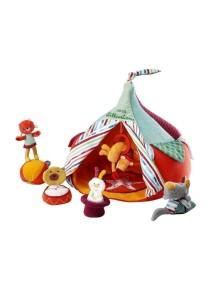 """Набор мягких игрушек """"Цирк и акробаты"""" Lilliputiens (Бельгия)"""