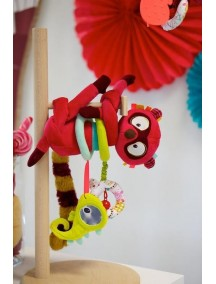 Лемур Джордж: развивающая игрушка Lilliputiens (Бельгия)