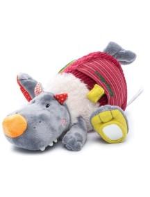 Волк Николас: развивающая игрушка  Lilliputiens (Бельгия)